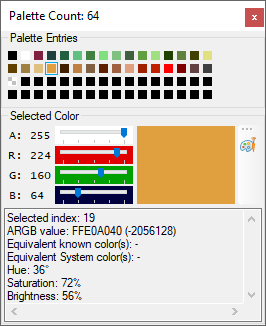 Debugging Palette